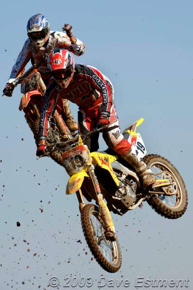 'BIG AIR' - Motocross riders in action